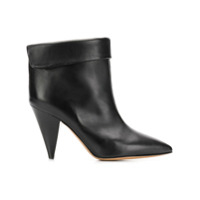 Isabel Marant Ankle Boot 'lisbo' De Couro - Preto