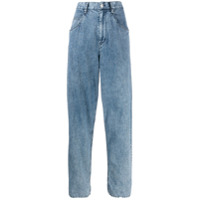 Isabel Marant Calça Jeans Cropped - Azul