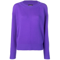 Isabel Marant Calice Round Neck Jumper - Roxo
