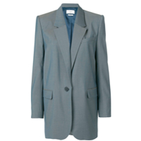 Isabel Marant Étoile Igora Single-Breasted Blazer - Cinza