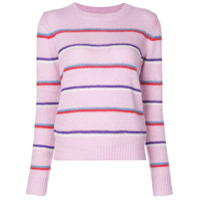 Isabel Marant Étoile Striped Knitted Jumper - Rosa