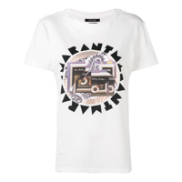 Isabel Marant Graphic Logo T-Shirt - Branco
