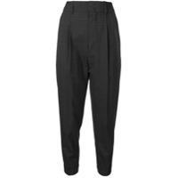 Isabel Marant Meyo High-Rise Trousers - Cinza