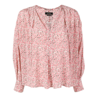 Isabel Marant Patterned Blouse - Rosa