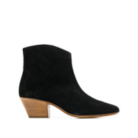 Isabel Marant Pointed Toe Ankle Boots - Preto