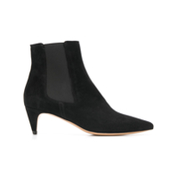 Isabel Marant Pointy Toe Ankle Booties - Preto