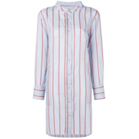 Isabel Marant Round Neck Shirt Dress - Azul
