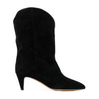 Isabel Marant Western Ankle Boots - Preto