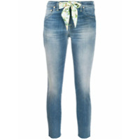Jacob Cohen Kimberly Cropped Jeans - Azul