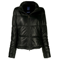 Jacob Cohen Quilted High-Neck Jacket - Preto