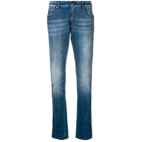 Jacob Cohen Side Stripe Straight Jeans - Azul
