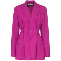 Jacquemus Pinched Detail Blazer - Rosa