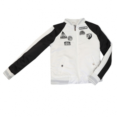 Jaqueta Bomber Authoria Com Patches-Feminino