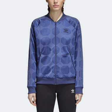 Jaqueta Fem Adidas Fashion League Ce3720 G Azul