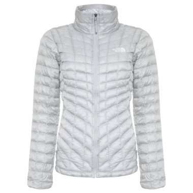 Jaqueta Feminina W Thermoball Full Zip - Cinza