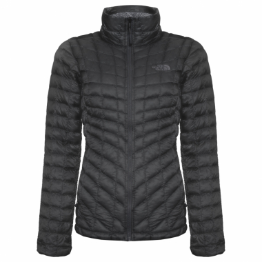 Jaqueta Feminina W Thermoball Full Zip - Preto