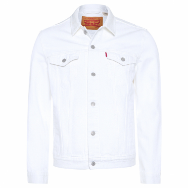 Jaqueta Jeans Masculina The Trucker - Off White