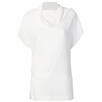 Jean Paul Knott Blusa Com Decote Degagê - Off White