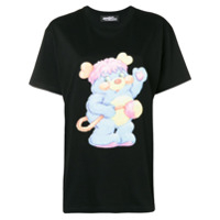 Jeremy Scott Camiseta Com Estampa - Preto