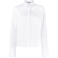 Jil Sander Concealed Button Tailored Shirt - Branco