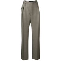 Jil Sander Loose-Fit Tailored Trousers - Cinza