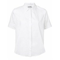 Jil Sander Short-Sleeved Shirt - Branco