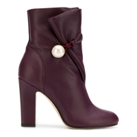 Jimmy Choo Bethanie 100 Ankle Boots - Roxo