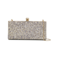 Jimmy Choo Celeste Clutch Bag - Metálico