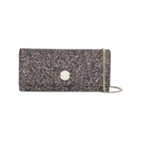 Jimmy Choo Fie Glitter Clutch Bag - Azul