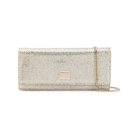 Jimmy Choo Lilia Clutch Bag - Prateado