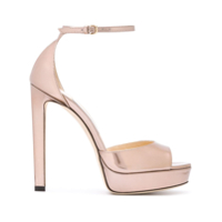 Jimmy Choo Pattie 130 Sandals - Rosa