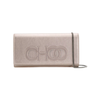 Jimmy Choo Scottie Clutch Bag - Rosa