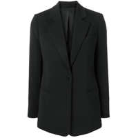 Joseph Classic Single-Breasted Blazer - Preto