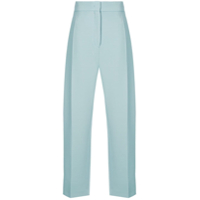Joseph Pleated High-Waisted Trousers - Azul