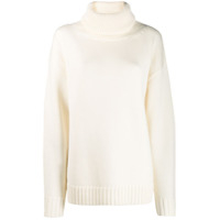Joseph Turtle Neck Sweater - Branco