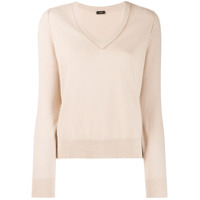 Joseph V-Neck Sweater - Neutro