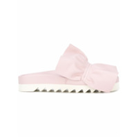Joshua Sanders Oversized Bow Platform Sneakers - Confetto