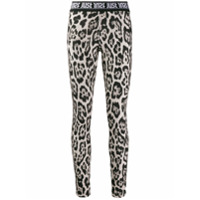 Just Cavalli Legging animal print - Marrom