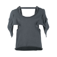 Jw Anderson Blusa Oversized - Cinza