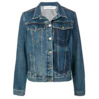Jw Anderson Pocket Detail Denim Jacket - Azul