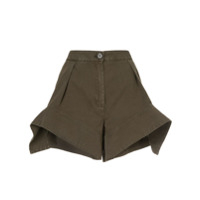 Jw Anderson Wide-Legged Shorts - Verde