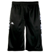 Kappa Logo Knee-Length Shorts - Preto