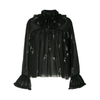 Karen Walker Blusa Bad Bishop - Preto