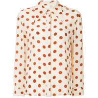 Karen Walker Camisa Silent Move - Neutro