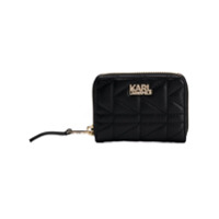 Karl Lagerfeld Carteira Kuilted Pequena - Preto