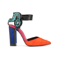 Kat Maconie Sapato Mamba Color Block - Estampado