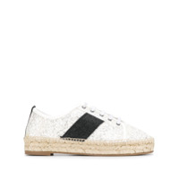 Kendall+Kylie Jury Lace-Up Espadrilles - Branco