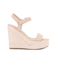 Kendall+Kylie Kk Grand Wedge Espadrilles - Marrom