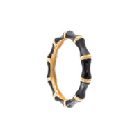 Kenneth Jay Lane Pulseira Larga - Preto