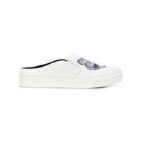 Kenzo Tiger Slip-On Sneakers - Branco